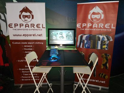 Epparel til Gamingbuddy.gg LAN i Parken